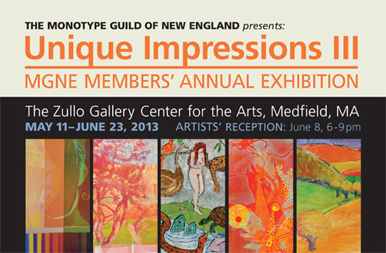 Invitation MGNE 2013 Annual Members Show Card